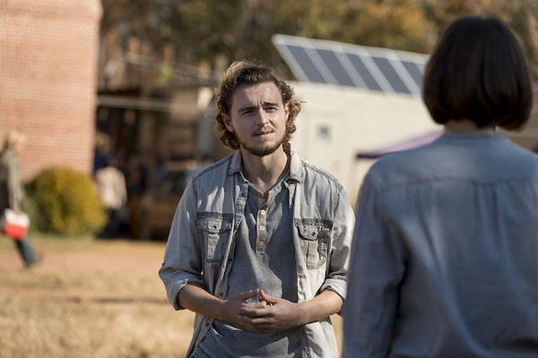 Callan McAuliffe Promoted to Series Regular on The Walking Dead