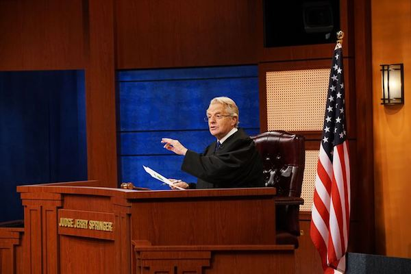 Judge Jerry with Jerry Springer Coming in 2019