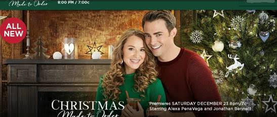 Christmas Made To Order Star Alexa PenaVega Interviewed
