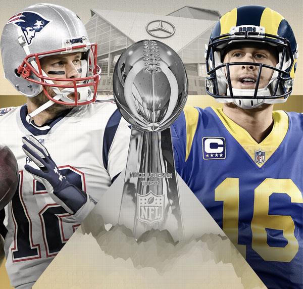Super Bowl LIII Teams Revealed