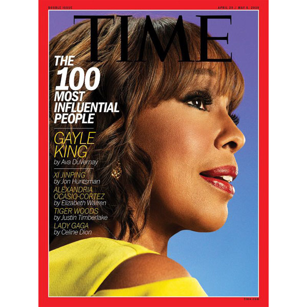 Gayle King Named To Time Magazine's Time 100