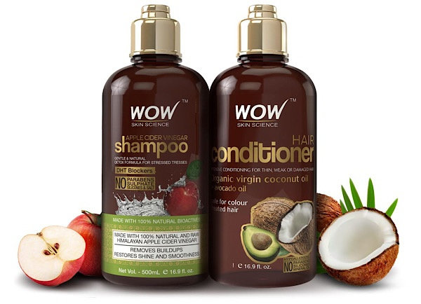 Sammi's Favorite Things: WOW Apple Cider Vinegar Shampoo and Conditioner