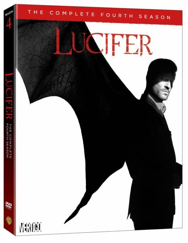 Lucifer Season Four On DVD Today