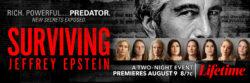 Surviving Jeffery Epstein Special Begins Tonight on Lifetime