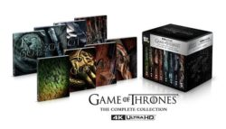 Game Of Thrones The Complete Collection on DVD Today