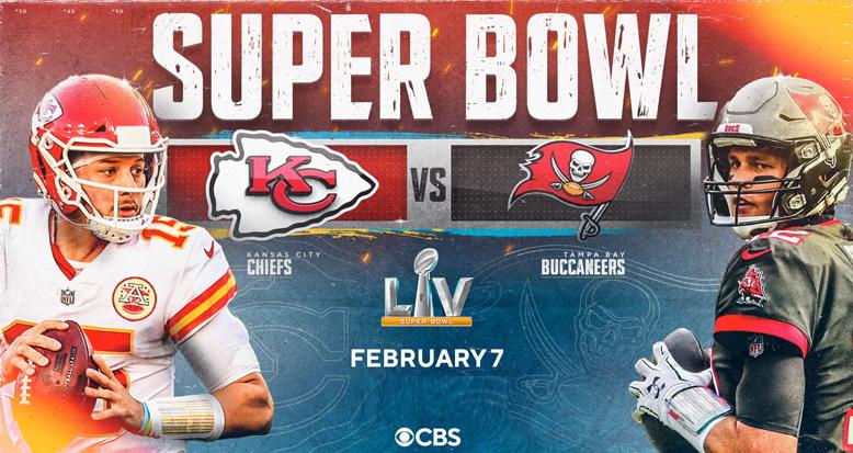 Super Bowl 2021 Spielbeginn