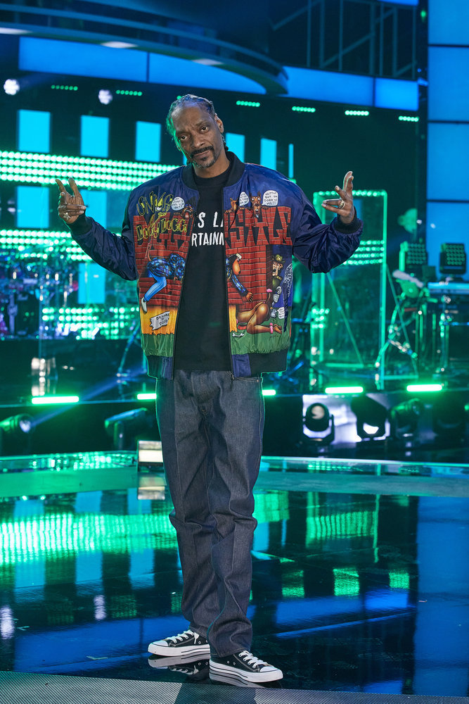 Rapper Snoop Dogg Joins The Voice