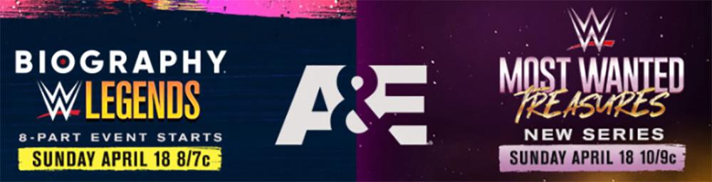 A&E, WWE Collaboration Begins Tonight