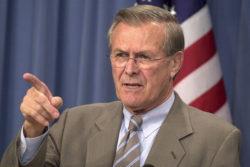 Former Secretary of Defense Ronald Rumsfeld Dead at 88