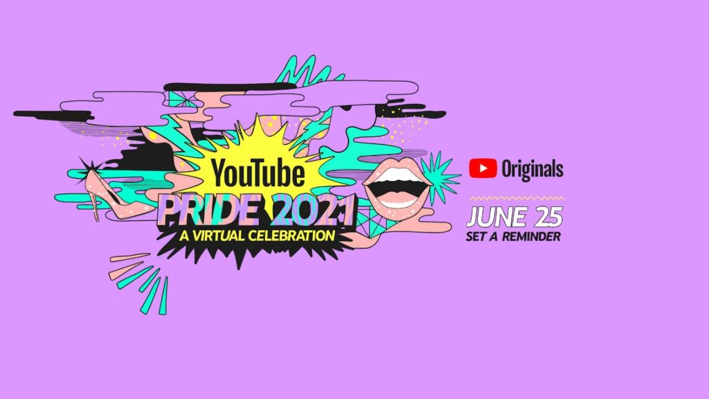 YouTube Pride 2021 Adds New Additions