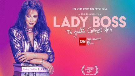 Lady Boss The Jackie Collins Story to be Released June 27