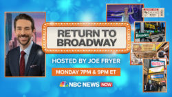 NBC NEWS NOW Presents Return To Broadway Monday