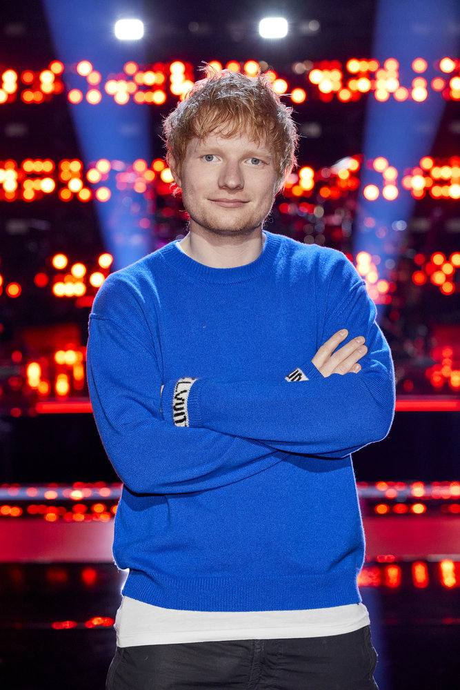 Ed Sheeran Joins The Voice